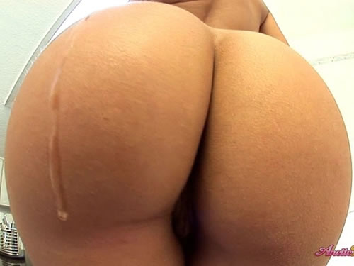 Amazing big white ass