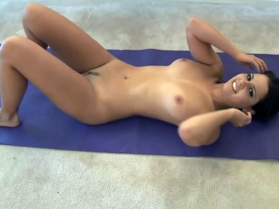 Fucked while doing yoga