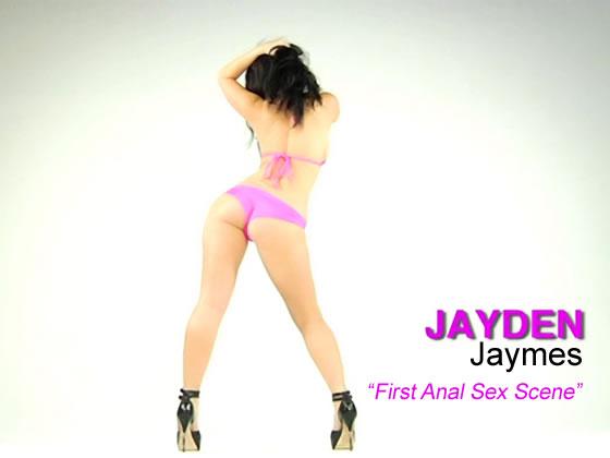 Jayden Jaymes 1st Anal