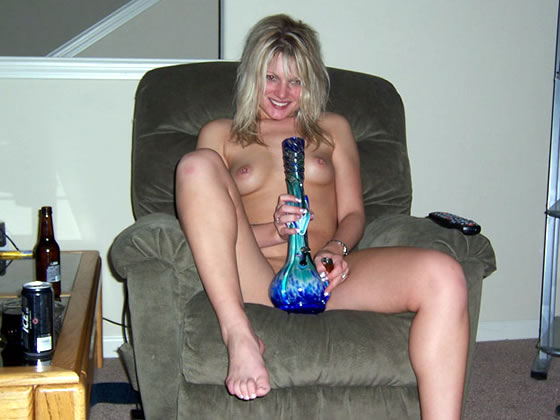Ex Girlfriend with Bong