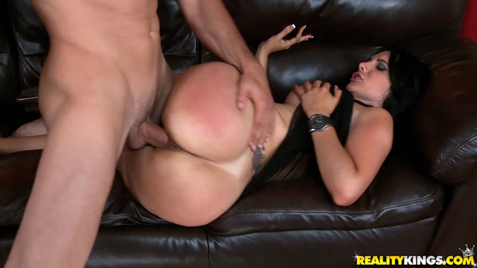 Action anal sex woman