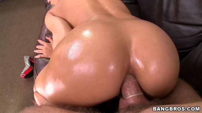 Sexy oiled body takes hard dick deep inside 4