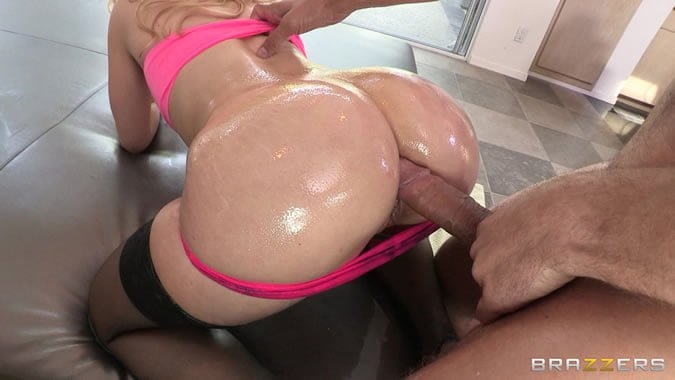 oil anal sex video