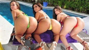 Three Bubble Butts