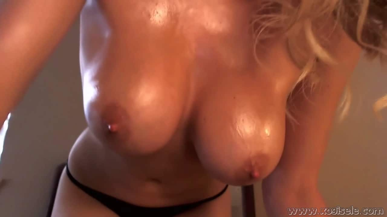 Sexy naked bouncy boobs