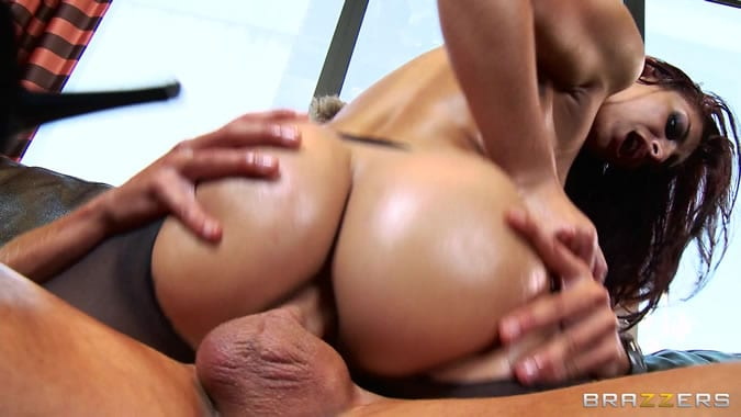 busty and insatiable slut is satisfying her macho man