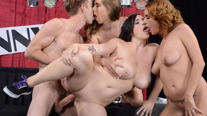 Sexy Xl Girls Group Sex