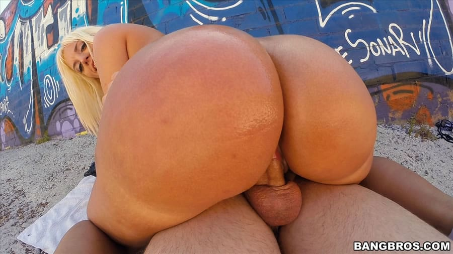 big bubble butt fucked sideways