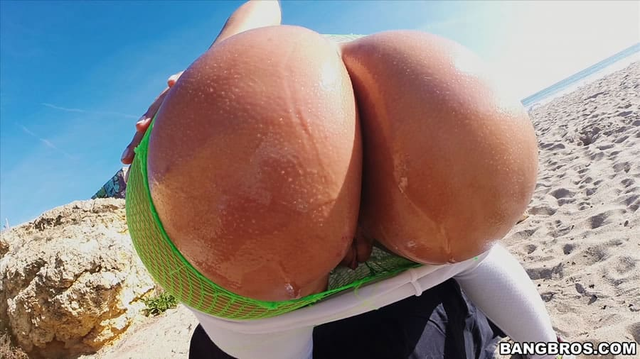 Oiled Up Bubble Butt