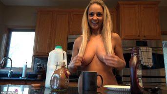 Nikki Sims Topless