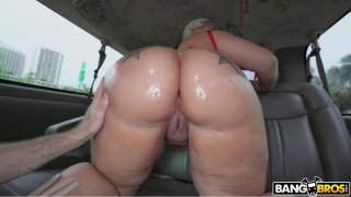 Ashley Barbie Thick PAWG Oiled Booty Bang Bus